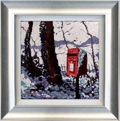 Snowy Post Box by Timmy Mallett