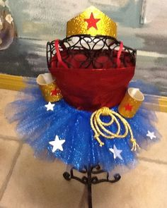 Hey, I found this really awesome Etsy listing at http://www.etsy.com/listing/162295652/wonder-woman-tutu-costume-with-blouse