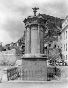 Lysikrates monument - Памятник Лисикрата — архитектура малых форм 4в.