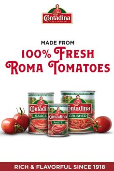 Our family of authentic, quality products for all your family moments. We use fresh vine-ripened Roma tomatoes for rich, authentic flavor for your family's favorite Italian dishes and all cooking occasions. You can find Contadina® products in the ca Chicken Parmesan Recipes, Chicken Wing Recipes, Healthy Chicken Recipes, Cauliflower Recipes, Lentil Recipes, Soup Recipes, Butter Squash Recipe, Manhattan Recipe, Halibut Recipes