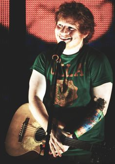 ed sheeran. He's on the Ellen show. Like right now. And I jUSt i cANt ASDFGHJKLKAHSGSJAKA