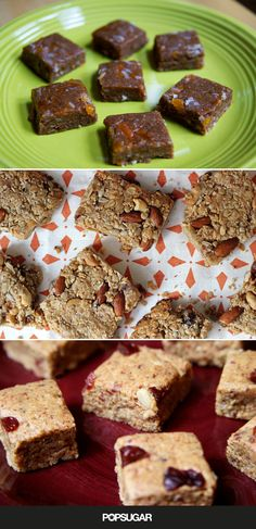 Make your own energy bars! We have 14 recipes to choose from.