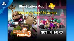 In January, PS Plus membership includes LittleBigPlanet 3, Not A Hero and