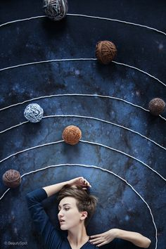 Yarn is my universe!! // Photog friends, I need a picture of me like this please.