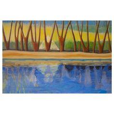 Himmel und Wasser (190x100cm / Acryl) - the second detail of my latest paining.⠀ ⠀ #art #artist #acrylpainting #artnews #contemporaryart #contemporaryartist #landscapepainting #surrealism #symbolism  #symbolisme #zeitgenössischekunst #kölnkunst #künstler #symbol #symbolisminart #magic #graffiti #figurative #figurativeart #figurativeartist #paintingmaterials