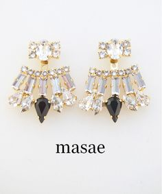 【masae】BIJOUX COLLECTION CHANDELIER EAR JACKET #シータ・ミュー