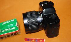 ASAHI PENTAX auto110 superボディー& 20-40mm F2.8 ZOOMレンズ付き・ 一眼レフカメラ1983年式 - ぱれっとストア ◎ Palette Store The 100