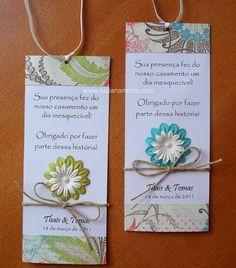 Convite artesanal | Luciana Murta