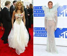 Evolução de estilo de Beyoncé (Foto: Getty Images)