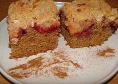 Švestkový koláč ze špaldové mouky recept - TopRecepty.cz Sweet Recipes, Banana Bread, Muffin, Food And Drink, Sweets, Cooking, Breakfast, Cakes, Fitness