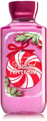 Twisted Peppermint Shower Gel - Signature Collection - Bath & Body Works