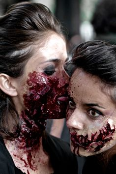 Sexy zombies for halloween!