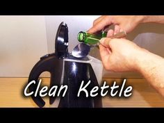 It's So Easy To Remove Limescale From A Kettle - http://www.wisediy.com/its-so-easy-to-remove-limescale-from-a-kettle/