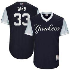 Yankees #33 Greg Bird Navy