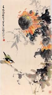 By famous Chinese artist, Chao Shao-an (趙少昂) (1905-1998)