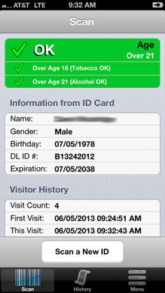 New app could curb underage drinking by spotting fake IDs http://cnet.co/16krphh