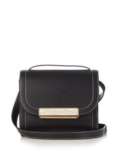 Cigar leather cross-body bag | Hillier Bartley | MATCHESFASHION.COM US