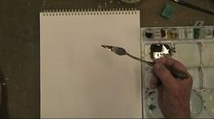 Painting Knife Techniques Lesson - How to use the painting knife in wate...