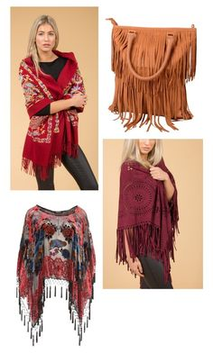 Folklore Fringing  Jayley | Luxury Women's Fashion | Kimonos | Cashmere | Wraps | Accessories | Suedette Capes