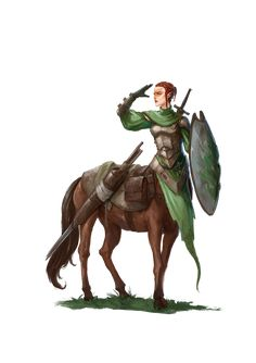 Female Centaur, Fantasy Female Warrior, Fantasy Rpg, Medieval Fantasy, Female Character Design, Character Concept, Character Art, Concept Art, Dnd Characters