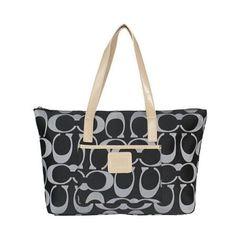 31ba365111 FREE SHIPPING Coach Signature Carryall Handbag Coach Purse Black