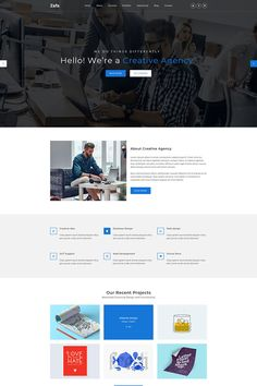 Zafa - MultiPurpose OnePage PSD Template is a complete one-page template. It's smart and clean design. It's perfect for anyStartup Business, Companies, Page Template, Psd Templates, Website Template, Photoshop Tutorial, Photoshop Actions, Best Web Design, Web Design Inspiration, Design Ideas, Landing Page Design
