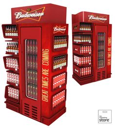 Budweiser - end of aisle
