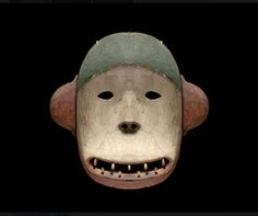 Deg Hit'an Bear Mask. Anvik Alaska.19th Century.