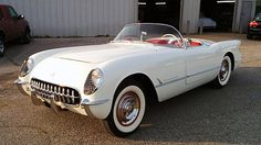 1954 Chevrolet Corvette Roadster 235/155 HP, Automatic presented as lot S26 at Dallas, TX 2015 - image1