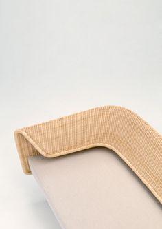 Wrap Collection Rattan Sofa by Hiroomi Tahara
