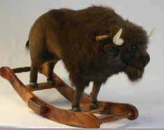 Nichol Buffalo Bisons - Farm Stuffed Animals. World's Largest Source of Luxury Handmade Plush Lifesize Large Lifelike and Realistic Stuffed ...