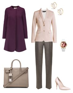 """""""#428"""" by snows22 on Polyvore featuring moda, Proenza Schouler, Calvin Klein Collection, Yves Saint Laurent, RALPH & RUSSO, HUGO, Goat, Maria Black e Lipsy"""