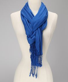 Look what I found on #zulily! Blue Scarf by Rapti #zulilyfinds