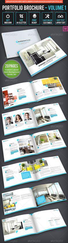 Portfolio Brochure Volume 1 #GraphicRiver