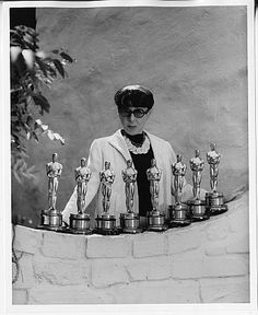 Edith Head... Hollywoods fashion designer.