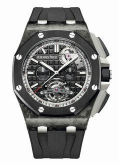 Audemars Piguet 刚刚发布今年 Watches Wonders 表展的第一枚预热表款——Royal Oak Offshore Tourbillon Chronograph,搭载该系列的第一枚「自动上链」陀飞轮机芯 Calibre 2897。