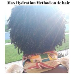 The Max Hydration Method! - Complete Natural Hair Tutorial
