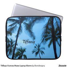Tiffany Custom Name Laptop Sleeve