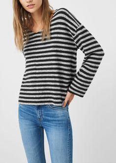 Flecked sweater | MANGO