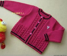 [Skilled Mummy] pretty boy - men and women of child cardigan - xiaoshuletter - Colorful wool