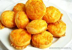 Gluténmentes sajtos pogácsa | Gluténmentes Receptek