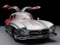 Mercedes-Benz 300SL 'Gullwing' Coupe #cars #mercedes #300sl #gullwing #DreamMachines