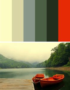 Nature color inspiration, love this!
