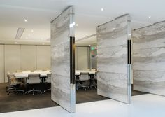 pivot doors - meeting room PORTFOLIO - Paul Hastings LLP - Robarts Interiors and Architecture Interior Work, Interior Design Photos, Office Interior Design, Interior Exterior, Interior Inspiration, Interior Architecture, Design Inspiration, Design Ideas, Office Space Design