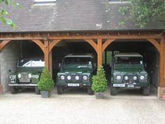 Truly my garage:) ...........in spirit!