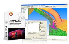 SC/Tetra is general purpose thermo-fluid simulation software using hybrid mesh to represent the surface shape with high accuracy. Its characteristics include sophisticated mesh generation system, high speed computing, low memory consumption, and user-friendly features throughout the operation. You can obtain simulation results in a short time without stress. #CFD
