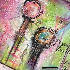 NO WASTE JUNK JOURNAL – NIKA IN WONDERLAND Mixed Media Art Tutorials