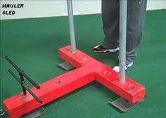 Homemade Push Pull Mauler Sled | DIY Strength Training Gear|DIY Fitness|DIY Training|Make Strength Equipment