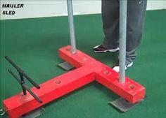 Homemade Push Pull Mauler Sled | DIY Strength Training Gear|DIY Fitness|DIY Training|Make Strength Equipment