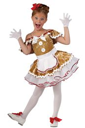 15627 Catch me If You Can || Novelty Holiday Dance Costumes | Dansco 2015 | Pinterest Keywords: Christmas Holiday Gingerbread Man